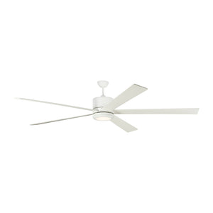 "Vision 84"" Matte White Indoor Ceiling Fan by Monte Carlo Fans 5VMR84RZWD"