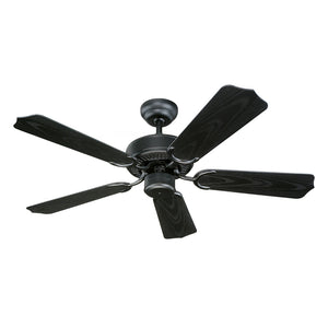 "Weatherford II Outdoor Fan 42"" Matte Black Outdoor Ceiling Fan by Monte Carlo Fans 5WF42BK"