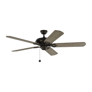 "York 60"" Aged Pewter Indoor Ceiling Fan by Monte Carlo Fans 5YK60AGP"