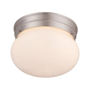 Flush Mount 1 Light Flush Mount  in Satin Nickel Finish by Savoy House 6-600-7-SN