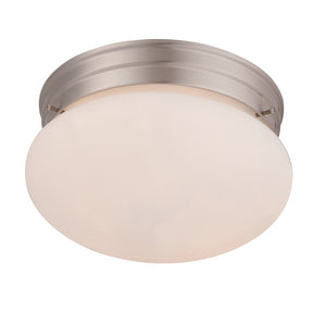 Flush Mount 1 Light Flush Mount  in Satin Nickel Finish by Savoy House 6-603-9-SN