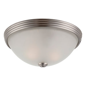 Flush Mount 2 Light Flush Mount  in Satin Nickel Finish by Savoy House 6-780-11-SN