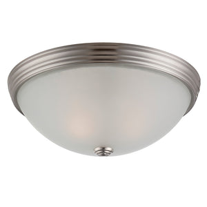 Flush Mount 2 Light Flush Mount  in Satin Nickel Finish by Savoy House 6-780-13-SN