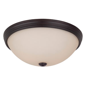 Flush Mount 2 Light Flush Mount  in English Bronze Finish by Savoy House 6-781-13-13