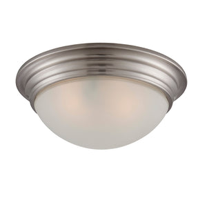 Flush Mount 2 Light Flush Mount  in Satin Nickel Finish by Savoy House 6-782-11-SN