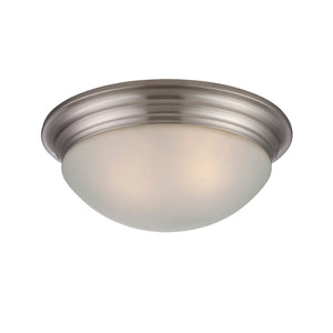 Flush Mount 2 Light Flush Mount  in Satin Nickel Finish by Savoy House 6-782-13-SN