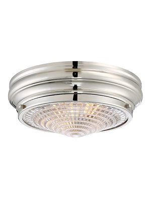 Benton 2 Light Flush Mount  in Polished Nickel Finish by Savoy House 6-9069-13-109
