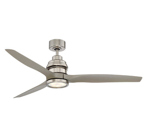 La Salle 1 Light Ceiling Fan  in Satin Nickel Finish by Savoy House 60-5025-3SV-SN