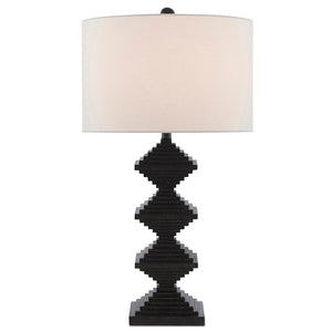 Pelor Black Table Lamp by Currey and Company 6000-0441