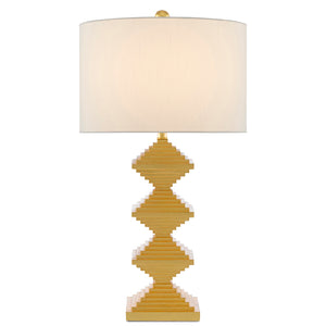 Pelor Gold Table Lamp by Currey and Company 6000-0442