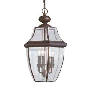 Lancaster 3 Light Outdoor Lighting in Antique Bronze Finish by Sea Gull 6039-71