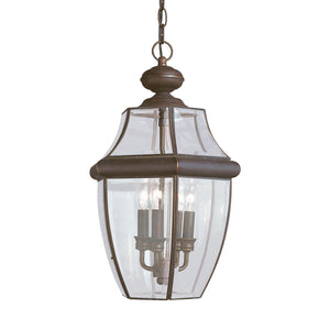 Lancaster 3 Light Outdoor Lighting in Antique Bronze Finish by Sea Gull 6039EN-71