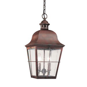 Chatham 2 Light Outdoor Lighting in Weathered Copper Finish by Sea Gull 6062EN-44