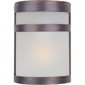 Maxim Lighting 65000FTOI Arc 1-Light LED Outdoor Wall Lantern in Oil Rubbed Bronze Finish
