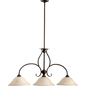 Spencer 3 Light Island Light in Oiled Bronze Finish 6510-3-86