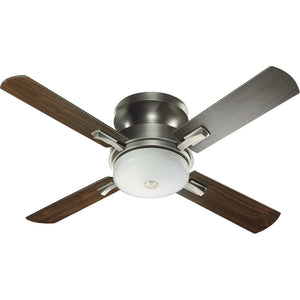 Davenport 3 Light Ceiling Fan in Antique Silver Finish 65524-92