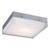 PLC Lighting 6574SNLED Praha Collection 1 Light Wall/Ceiling in Satin Nickel Finish