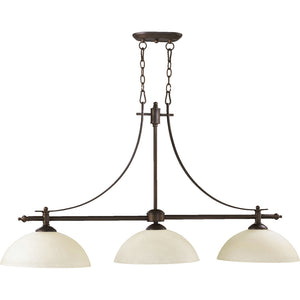 Aspen 3 Light Island Light in Oiled Bronze Finish 6577-3-86