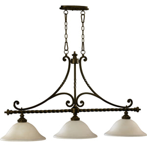 Alameda 3 Light Island Light in Oiled Bronze Finish 6586-3-86