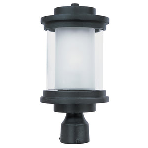 Maxim Lighting 65860CLFTAR Lighthouse LED 1-Light Outdoor Post Mount in Anthracite Finish