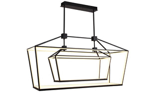 Park Ave Chandelier In Black Finish by Avenue Lighting HF9413-BLK