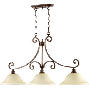 Bryant 3 Light Island Light in Oiled Bronze Finish 6654-3-86