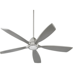 Holt 1 Light Ceiling Fan in Satin Nickel Finish 66565-65