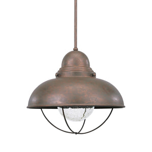 Sebring 1 Light Outdoor Lighting in Weathered Copper Finish by Sea Gull 665893S-44
