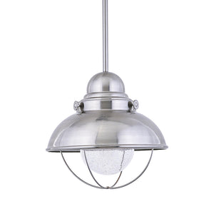Sebring 1 Light Outdoor Lighting in Brushed Stainless Finish by Sea Gull 665893S-98