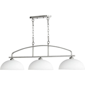 Reyes 3 Light Island Light in Classic Nickel Finish 6660-3-64