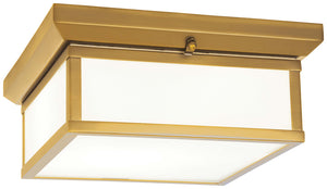 Flush Mount 2 Light Flush Mount In Liberty Gold Finish by Minka Lavery 6919-249