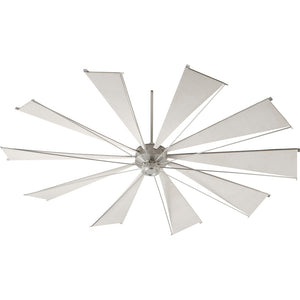Mykonos Ceiling Fan in Satin Nickel Finish 69210-65