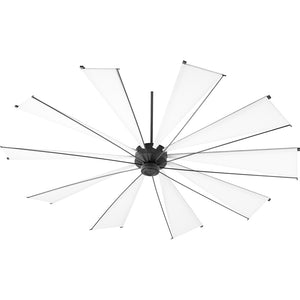 Mykonos Ceiling Fan in Noir Finish 69210-69