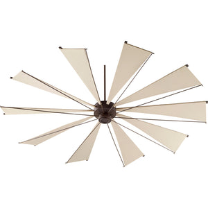 Mykonos Ceiling Fan in Oiled Bronze Finish 69210-86