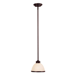 Willoughby 1 Light Mini Pendant  in English Bronze Finish by Savoy House 7-5784-1-13