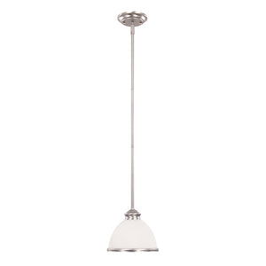 Willoughby 1 Light Mini Pendant  in Pewter Finish by Savoy House 7-5784-1-69