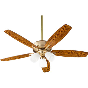 Breeze 3 Light Ceiling Fan in Aged Brass Finish 70525-380