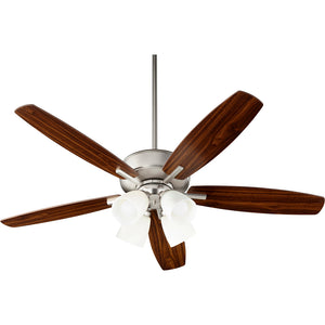 Breeze 4 Light Ceiling Fan in Satin Nickel Finish 70525-465