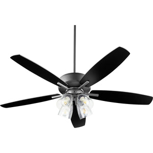 Breeze 4 Light Ceiling Fan in Noir Finish 70525-469