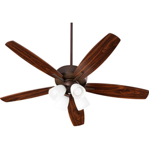 Breeze 4 Light Ceiling Fan in Oiled Bronze Finish 70525-486