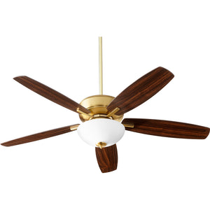 Breeze 2 Light Ceiling Fan in Aged Brass Finish 70525-80