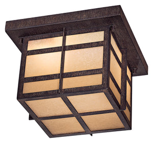 Delancy 2 Light Flush Mount In Iron Oxide Finish by Minka Lavery 71199-A357-PL