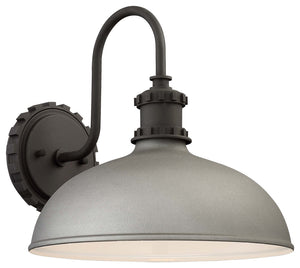 Escudilla 1 Light Outdoor Pendant In Sand Silver Finish by Minka Lavery 71251-295