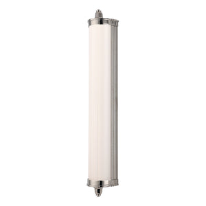 Nichols 1 Light LED Bathroom Vanity By Hudson Valley 714-PN in Polished Nickel Finish