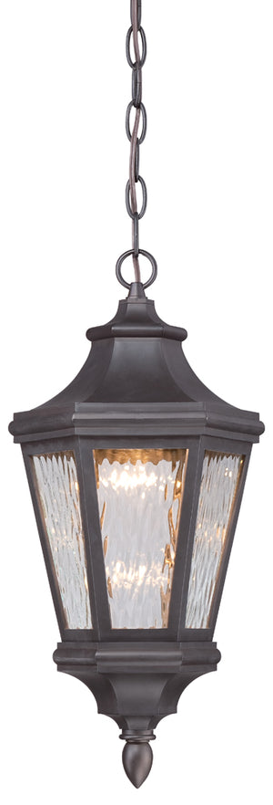 Hanford Pointe 1 Light Outdoor Pendant In Oil Rubbed Bronze Finish by Minka Lavery 71824-143-L