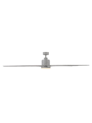 Bluffton 1 Light Ceiling Fan Ceiling Fan in Grey Wood Finish by Savoy House 72-5045-8GR-GR