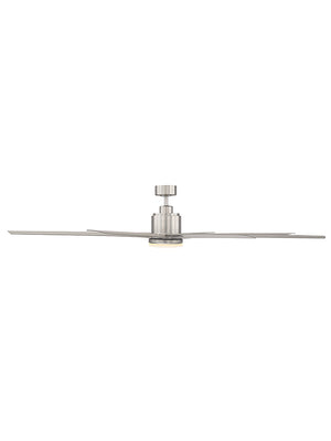 Bluffton 1 Light Ceiling Fan Ceiling Fan in Satin Nickel Finish by Savoy House 72-5045-8SV-SN