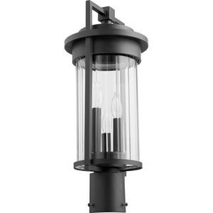 Dimas 3 Light Post in Noir Finish 7217-3-69