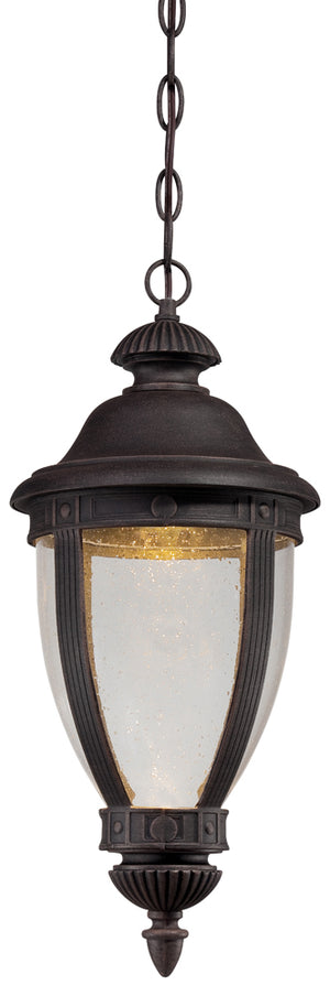 Wynterfield 1 Light Outdoor Pendant In Burnt Rust Finish by Minka Lavery 72414-51A-L