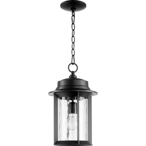 Charter 1 Light Outdoor in Noir Finish 7247-9-69